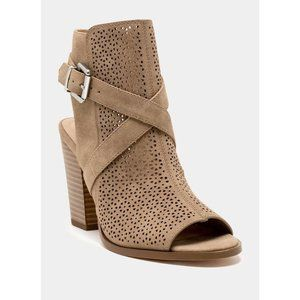 FREE SHIP | Restricted | NWT Laser Cut Bootie